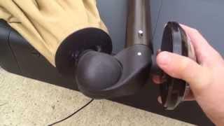 Hampton Bay Solar Umbrella