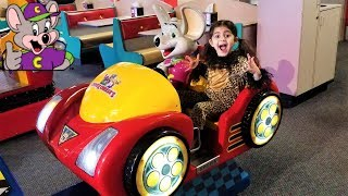 CHUCK E CHEESE'S family fun playground games and play area for kids!!