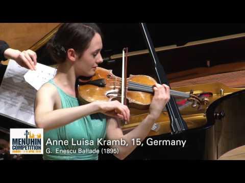 Anne Luisa Kramb, 15, Germany