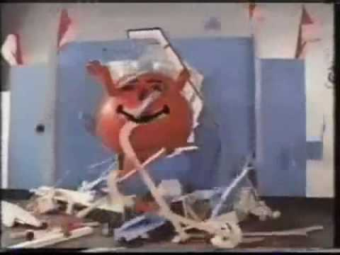 ODE TO KOOL AID MAN YouTubeKool Aid Breaking Through Wall