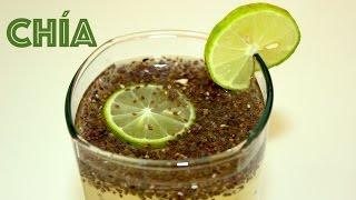 Agua De Limon Con Semillas De Chia La Receta De La Abuelita Youtube