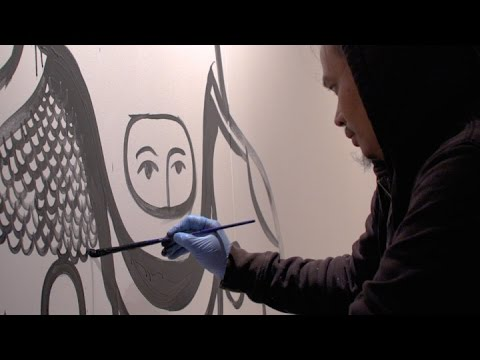 Indonesian Artist Eko Nugroho Creates Site-Specific Mural at Asia Society in New York