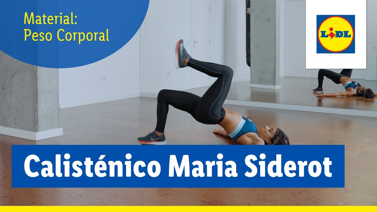 Treino Calisténico com Maria Siderot | Treinar em casa | Lidl Portugal
