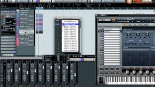 Cubase 6 - Halion Sonic SE Multi Timbral and Multi Output Configuration