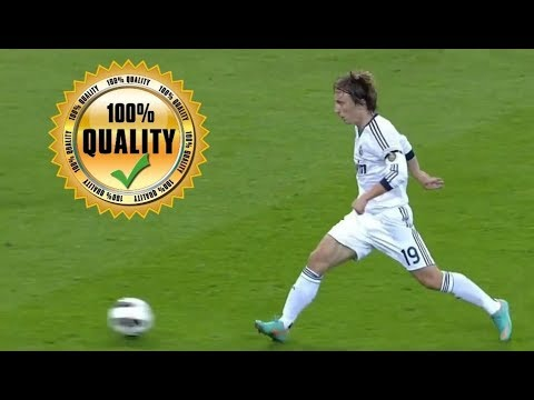 Luka Modric Trivela (Outside Foot) Passes/Assists Compilation.