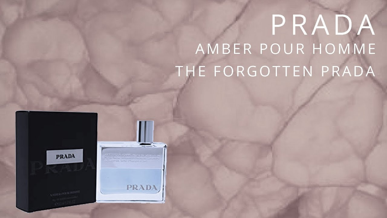 Prada Amber Pour Homme - Review | The Forgotten Prada? - YouTube
