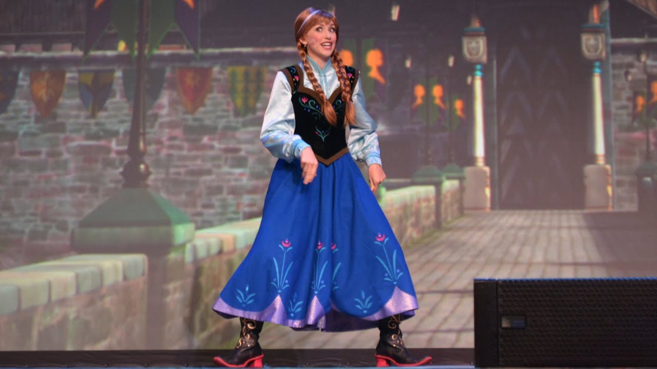 Princess Anna Introduces Quot A Frozen Sing Along Celebration