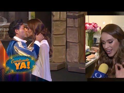 ¿Qué opina el novio de Yanet García del beso con Raúl Araiza? | Cuéntamelo YA!... Al fin