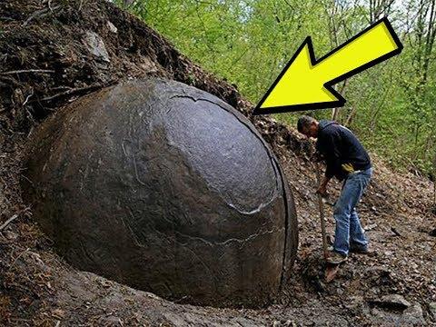 10 cose misteriose trovate sotto terra