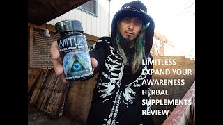 LIMITLESS EXPAND YOUR AWARENESS HERBAL SUPPLEMENTS REVIEW