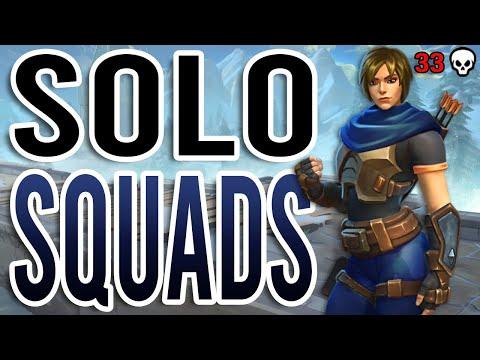 Realm Royale: Solo vs. Squads 33 Kill Game (Crossbow Hunter)