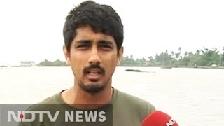 Freaked out after losing home for first time Actor Siddharth to NDTV
