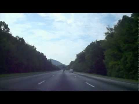 My drive to school from Chattanooga to Dalton on Interstate 75