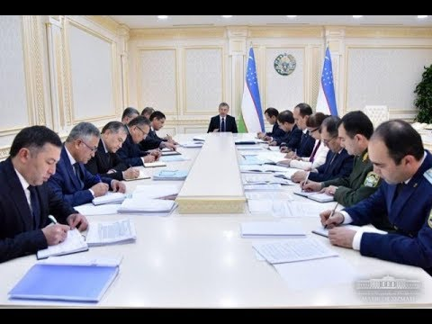 Oʻzbekiston Prezidenti Shavkat Mirziyoyev 2018-yilning 30-oktabr kuni yigʻilish oʻtkazdi