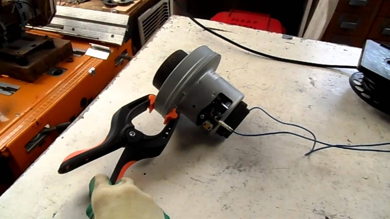 Bare vacuum cleaner motor start up and run youtube Vaccum motors