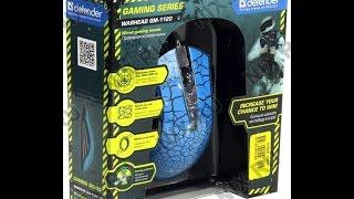Unboxing на игровую мышку Defender Warhead GM-1120