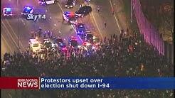 Anti-Trump Protesters Close Down I-94 In Mpls.