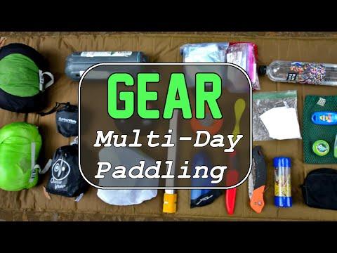 Overnight Paddling Gear List Into 2020 - Kayak Camping & Paddleboard Camping