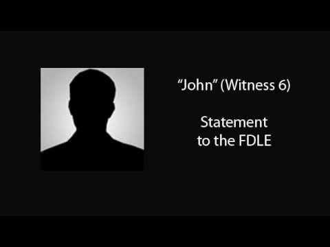 Discovery: John's Full Statement to the FDLE