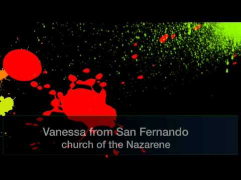 At San Fernando church of the Nazarene Harvest Festival 2016