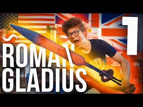 MAKING A ROMAN GLADIUS!!! Part 1