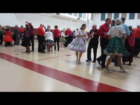 "23 JIM SNYDER SINGS/CALLS ""CHRISTMAS IN YOUR ARMS"" SQUARE DANCE"