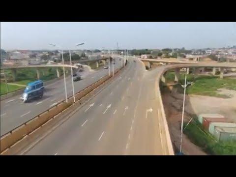 Reconstruction of Sunyani Road in Kumasi Ghana(SOFOLINE INTERCHANGE)