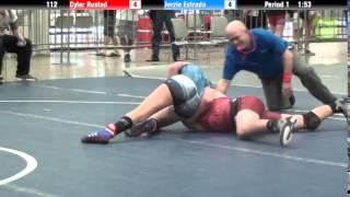 SCHOOLBOY 112 - Cyler Rustad vs. Jerzie Estrada