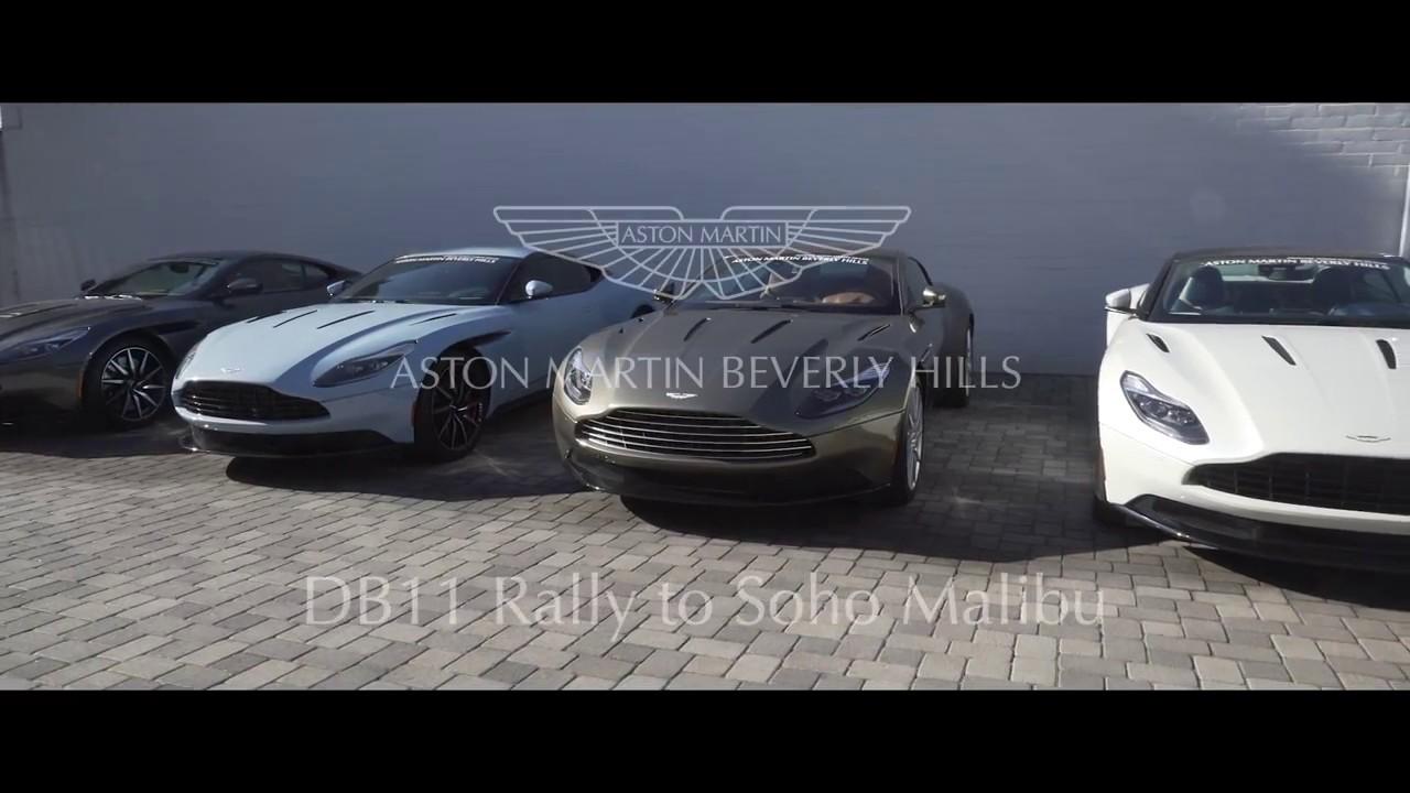Aston Martin Beverly Hills DB Drive To Soho House YouTube - Aston martin beverly hills