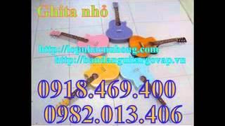 bán đàn guitar mini dành cho thiếu nhi giá cực rẻ , guitar trẻ con