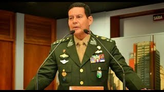 MOURÃO: O GENERAL PRESIDENTE!