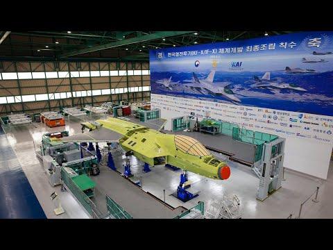 KF-X Korean Fighter Prototype Begins Final Assembly