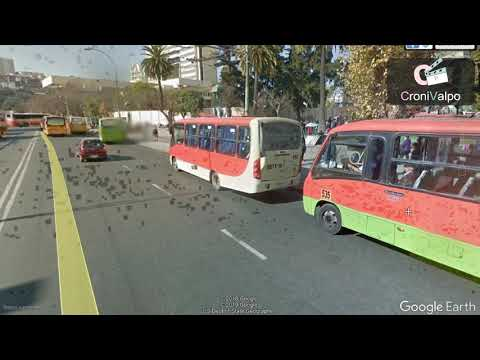 Cambio Paradero de Buses En Plaza Ohiggins a Teatro Municipal.