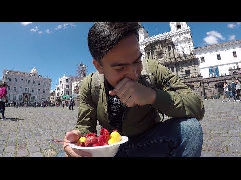 Comida callejera en ECUADOR 🇪🇨  |  Quito