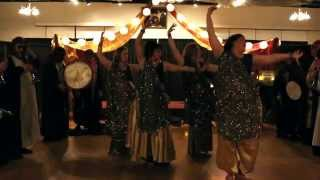 Spiral Skies Bellydance & The Al Bedoo Shrine Oriental Band of Billings, MT perform together
