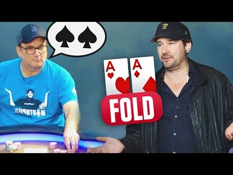 (SCANDAL!) Phil Hellmuth Erupts At Matusow After Being Told His Cards