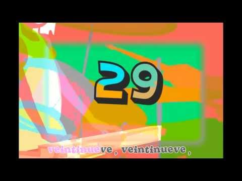 Los números. Song to learn numbers in Spanish for kids