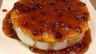 Baked Brie with Orange-Infused Fig Jam