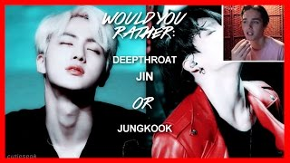 BTS Game: Would You Rather (dirty ver.) #3 [TOUGH DECISIONS]