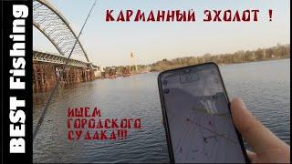 ЭХОЛОТ В ТЕЛЕФОНЕ РАБОТАЕТ ЛИ ПРИЛОЖЕНИЯ С БЕРЕГА Открытие городской рыбалки Набережная Киева