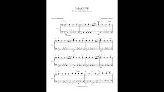 Imagine by John Lennon - Piano Accompaniment (Sheet Music)