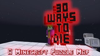 A Deadly Map // 30 Ways To Die // A minecraft Puzzle Map