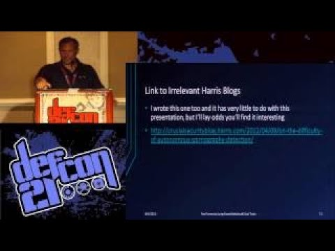 Defcon 21 Fast Forensics Using Simple Statistics and Cool Tools