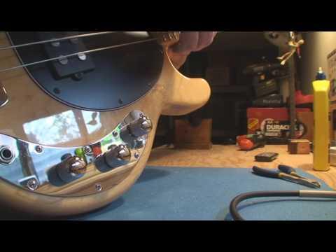 Ernie Ball Musicman Stingray Bass Guitar