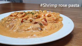 새우 로제 파스타ㅣShrimp rose pasta