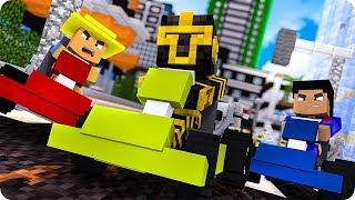 Minimassi Y Sus Amigos Participan En Una Carrera En Minecraft 😱