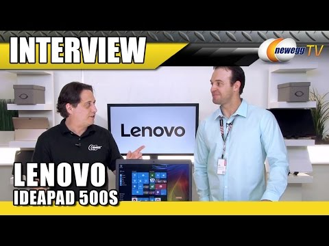 Lenovo Ideapad 500S Laptop Interview - Newegg TV