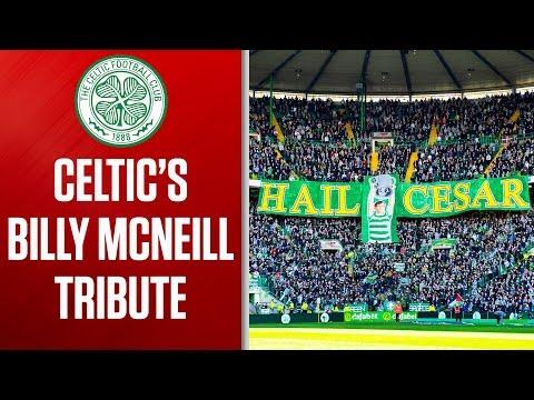 Billy McNeill Honoured with 67-Second Applause | Celtic 1-0 Kilmarnock | Ladbrokes Premiership