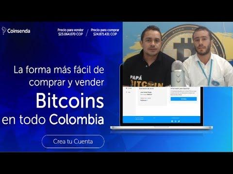 COINSENDA: Comprar Y Vender Bitcoin En Colombia/ Entrevista Erick Ospina