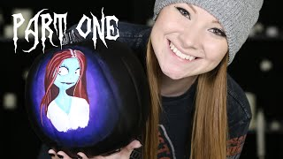 Live Pumpkin Painting (Sally from Nightmare Before Christmas) | OFFLINE thumbnail